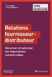 Relation fournisseur distributeur - Couverture - Format classique