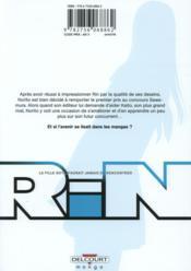 Rin T.2 - 4ème de couverture - Format classique