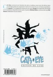 Cat's Eye T.2 - 4ème de couverture - Format classique