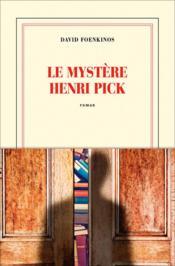 Le mystère Henri Pick - Couverture - Format classique