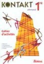 Kontakt 1re fichier eleve 2002 - Couverture - Format classique