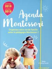 Agenda Montessori (édition 2018/2019) - Couverture - Format classique