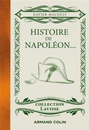 Histoire de Napoléon... - Couverture - Format classique