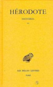 Histoires t.6 - Couverture - Format classique