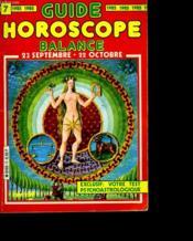 Guide Horoscope 1985. Balance - Couverture - Format classique
