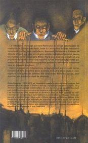 Les esclaves de paris t.2 ; le secret des champdoce - 4ème de couverture - Format classique