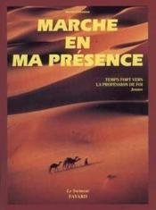 Marche en ma presence ; temps fort vers la profession de foi ; livre jeunes - Couverture - Format classique