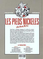 Les pieds nickelés ; intégrale t.4 - 4ème de couverture - Format classique