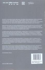 Design suisse - 4ème de couverture - Format classique