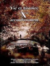 Vie et histoire x arrondissement paris - Couverture - Format classique