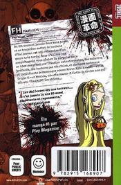 I luv halloween t.3 - 4ème de couverture - Format classique