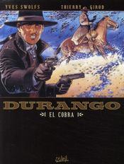 Durango t.15 ; el cobra - Couverture - Format classique