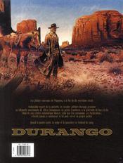 Durango t.15 ; el cobra - 4ème de couverture - Format classique
