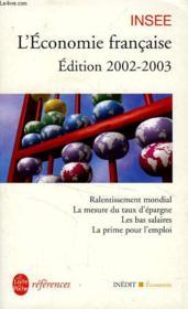 L'Economie Francaise 2002-2003 - Couverture - Format classique
