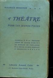 Theatre Pour Les Jeunes Filles - Couverture - Format classique