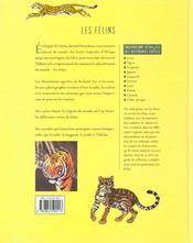 Les Felins Et Les Chats Sauvages - 4ème de couverture - Format classique