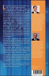 Contrôle de gestion bancaire (7e édition) - 4ème de couverture - Format classique