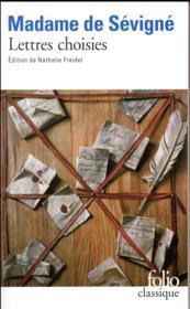 Lettres choisies - Couverture - Format classique