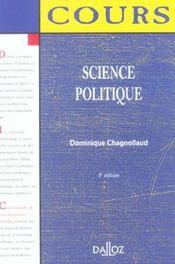 Science politique - Intérieur - Format classique