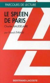 Le spleen de Paris, de Charles Baudelaire - Couverture - Format classique