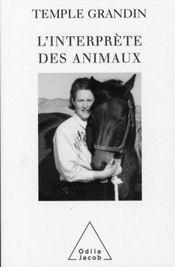 L'interprète des animaux - Intérieur - Format classique