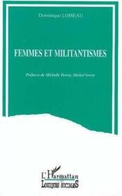 Femmes Et Militantisme - Couverture - Format classique