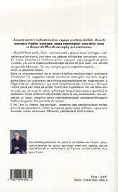 Le monde du Julien t.2 - 4ème de couverture - Format classique