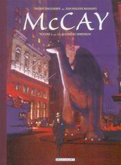 McCay T.4 ; la quatrième dimension - Intérieur - Format classique