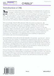 Introduction A Uml - 4ème de couverture - Format classique