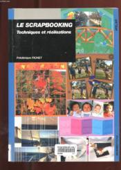 Scrapbooking - Technique Et Realisation - Couverture - Format classique
