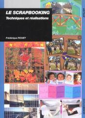 Scrapbooking - Technique Et Realisation - Intérieur - Format classique
