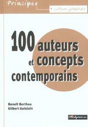 100 Auteurs Et Concepts Contemporains - Intérieur - Format classique