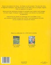 Reussir Son Potager Et Son Verger - 4ème de couverture - Format classique