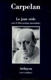 Jour Cede (Le) - Couverture - Format classique