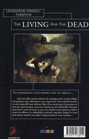 The living and the dead - 4ème de couverture - Format classique