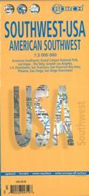 USA t.2 ; southwest (édition 2007) - Couverture - Format classique