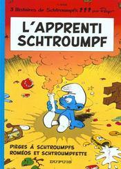 Les Schtroumpfs T.7 ; l'apprenti Schtroumpf, pièges à Schtroumpfs et Roméos et Schtroumpfette - Intérieur - Format classique