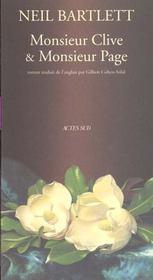 M. clive et m. page - Intérieur - Format classique