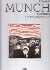 Edvard Munch ; die grafischen meisterwerke - Couverture - Format classique