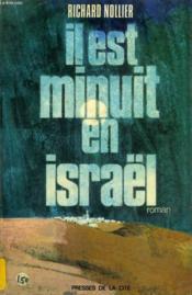 Il Est Minuit En Israel - Couverture - Format classique