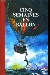 Cinq Semaine En Ballon - Une Ville Flottante - Couverture - Format classique