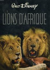 Lions D'Afrque - Couverture - Format classique