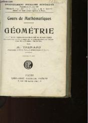 Cours De Mathematiques - Geometrie - Cours Complet - Jeunes Filles - Couverture - Format classique