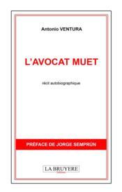 L'avocat muet - Couverture - Format classique