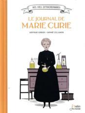 Le journal de Marie Curie - Couverture - Format classique