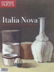 Connaissance Des Arts N.227 ; Italia Nova - Intérieur - Format classique