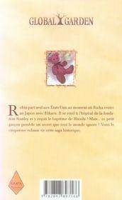 Global garden t.5 - 4ème de couverture - Format classique