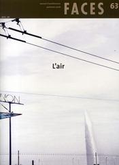 FACES T.63 ; l'air (édition automne 2006) - Intérieur - Format classique