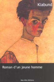 Roman d'un jeune homme - Couverture - Format classique