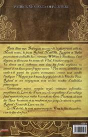 Les haut conteurs t.2 ; roi vampire - 4ème de couverture - Format classique